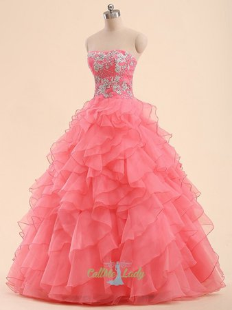 prom dresses pink on mannequins - Google Search