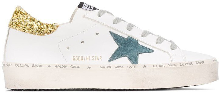 High Star Glitter Sneakers