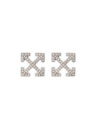 Off-White Stud Earrings - Farfetch