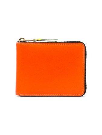 Comme Des Garçons Wallet Orange Zipped Wallet - Farfetch