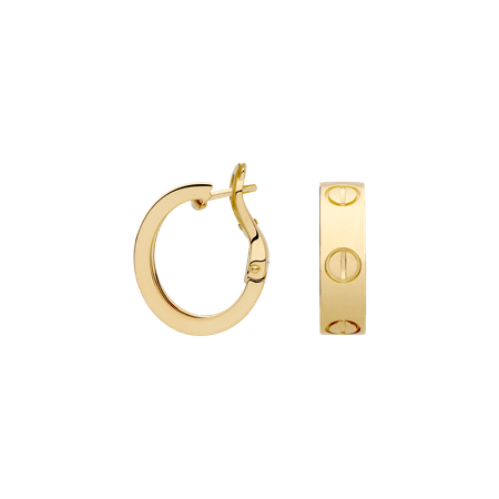 cartier- love earrings