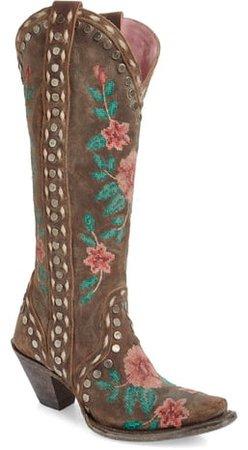 Wild Stitch Embroidered Boot