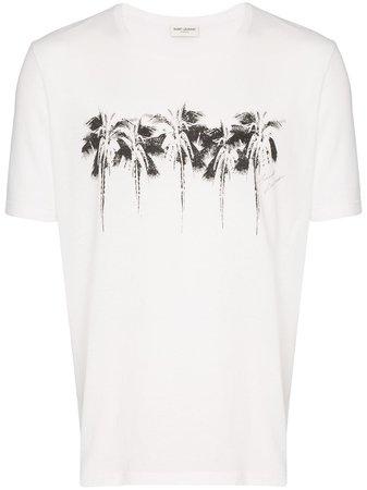 Saint Laurent t-shirt à Imprimé Graphique - Farfetch
