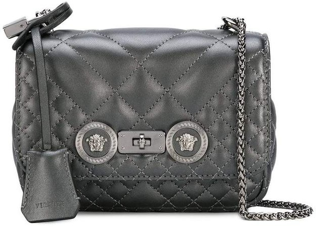 small quilted Icon crossbody bag