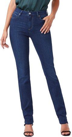 Transcend Hoxton High Waist Straight Leg Jeans