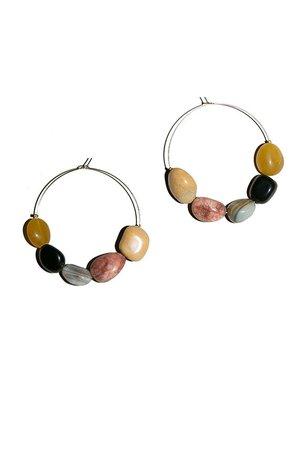 Paloma Wool - Brown Maracaibo Earrings | BONA DRAG