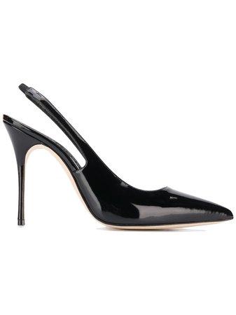 Manolo Blahnik Sapato Com Fixação Posterior 'Allura' - Farfetch