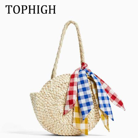 Aliexpress.com : Buy New 2019 Summer Beach Bag Hand Woven Straw Bags Fashion Women Casual Tote Large Capacity Shopping Bags Women Shoulder Handbags from Reliable Shoulder Bags suppliers on TOPHIGH Official Store
