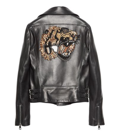 gucci black jacket with tiger on back - Google Search