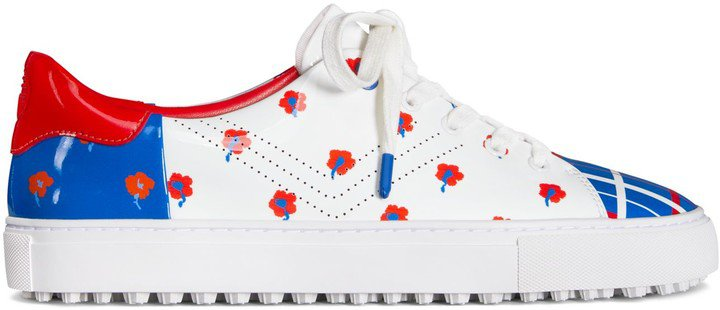 Perforated Golf Sneakers