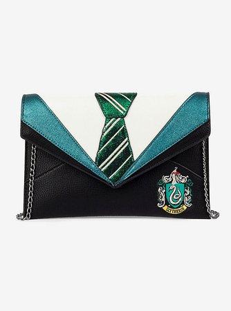 Danielle Nicole Harry Potter Slytherin Uniform Clutch Green