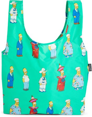 The Simpsons Set of 5 Standard Ripstop Nylon Totes