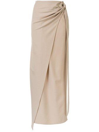 Anna Quan Arielle Wrap Maxi Skirt - Farfetch