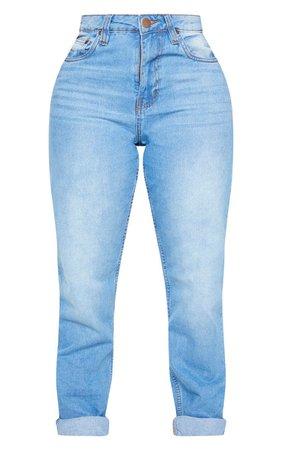 Shape Black Mom Jeans | Curve | PrettyLittleThing USA