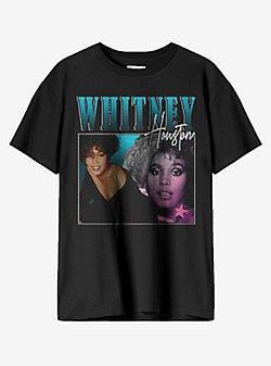 Whitney Houston Pop Portraits T-Shirt