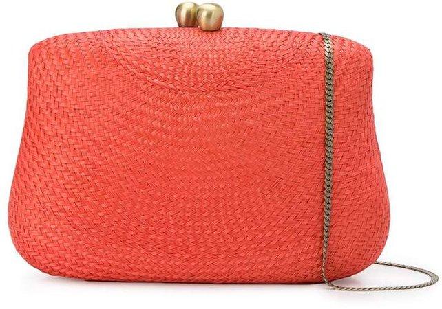 braided-straw shoulder bag