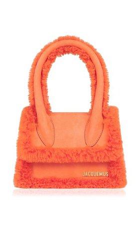 Le Chiquito Shearling Top Handle Bag By Jacquemus   Moda Operandi