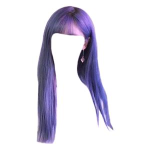 Purple Hair PNG