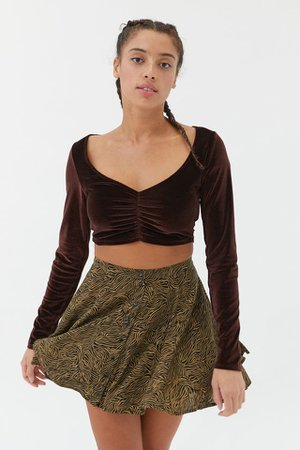 UO Millie Mini Skirt | Urban Outfitters