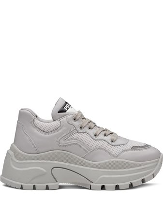 Prada Chunky Panelled Sneakers
