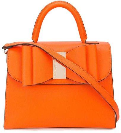 bow embellished handbag