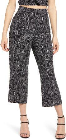Flare Crop Pants