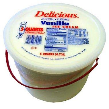 Sam's Club Delicious® Vanilla Ice Cream - 5 qt. bucket