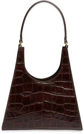 Small Rey Leather Shoulder Bag