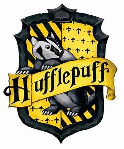 harry porry hufflepuff crest