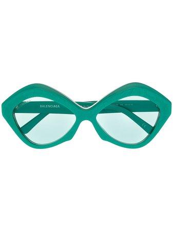 Balenciaga Eyewear солнцезащитные очки Dynasty в геометричной оправе - купить в интернет магазине в Москве   Цены, Фото.