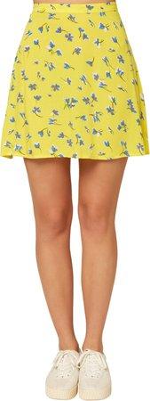 Sindra Floral Print Skirt