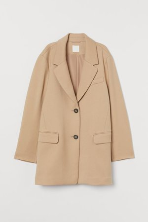 Short Coat - Beige - Ladies | H&M US