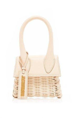 Le Chiquito Wicker And Leather Bag By Jacquemus | Moda Operandi