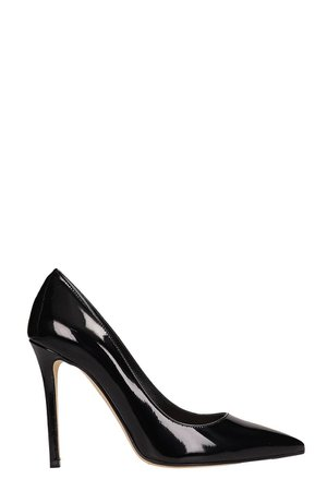 The Seller Black Patent Leather Pumps