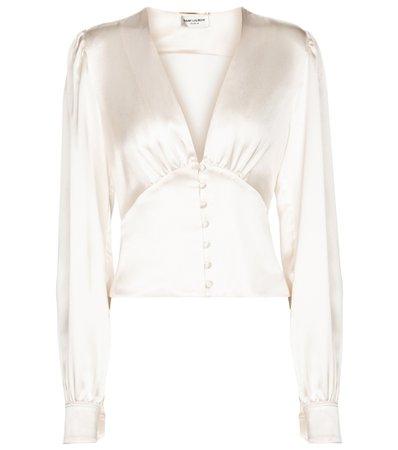 Saint Laurent, Silk blouse