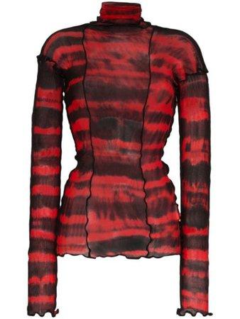 ASAI tie-dye Long Sleeve Top - Farfetch
