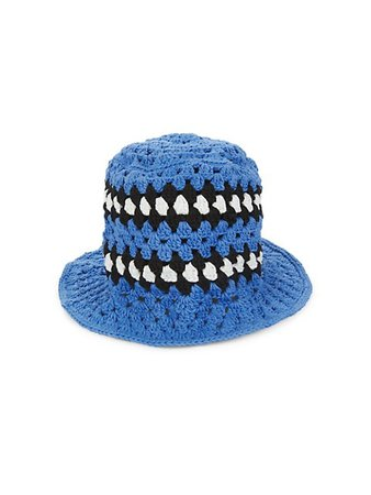 Amiri Crochet Bucket Hat