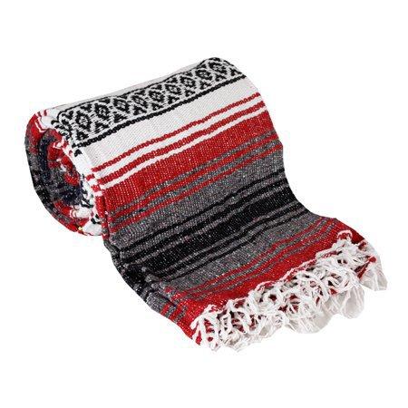 Authentic Mexican Falsa Yoga Blanket - Walmart.com
