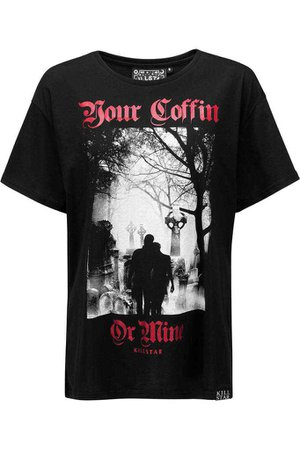 Coffin Relaxed Top [B] | KILLSTAR - US Store