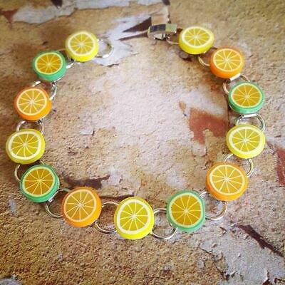 Citrus Slices Bracelet