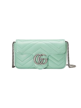 Gucci GG Marmont Matelassé Leather Super Mini Bag | SaksFifthAvenue