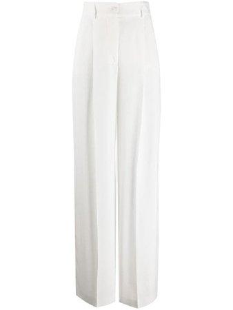Alberta Ferretti Wide Leg Trousers - Farfetch