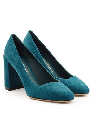 Suede Pumps Gr. US 7.5