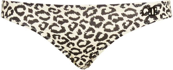 Eva Leopard-Print Bikini Briefs