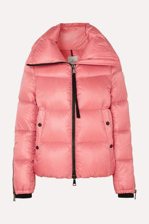 Quilted Shell Down Jacket - Pink