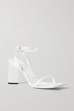 White Moon leather sandals | Balenciaga | NET-A-PORTER