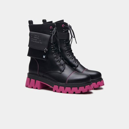 *clipped by @luci-her* BANSHEE FALLOUT CYBER BOOTS | Koi