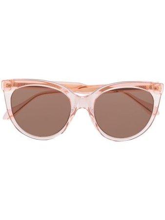Gucci Eyewear Tinted Cat-Eye Sunglasses Aw19 | Farfetch.Com