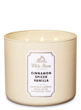 Cinnamon Spiced Vanilla 3-Wick Candle | Bath & Body Works