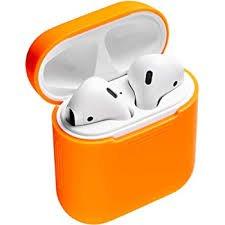 airpods in a orange case - Google Search